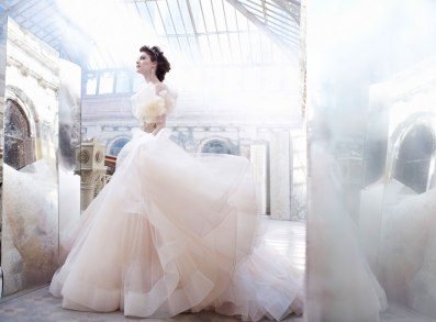 lazaro-bridal-tulle-ball-gown-sweetheart-satin-organza-floral-jewel-natural-waist-horsehair-chapel-train-3250_zm