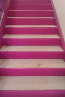 3. the_pink_stairs_by_timeforcookies-d5bubfq