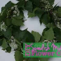 DIY Swedish Midsummer Flower Crown