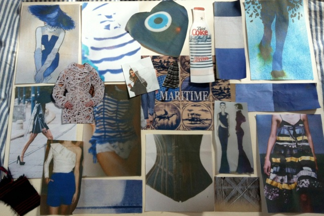 Maritime Luxe Inspiration Board