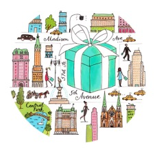 Tiffany & Co illustrations