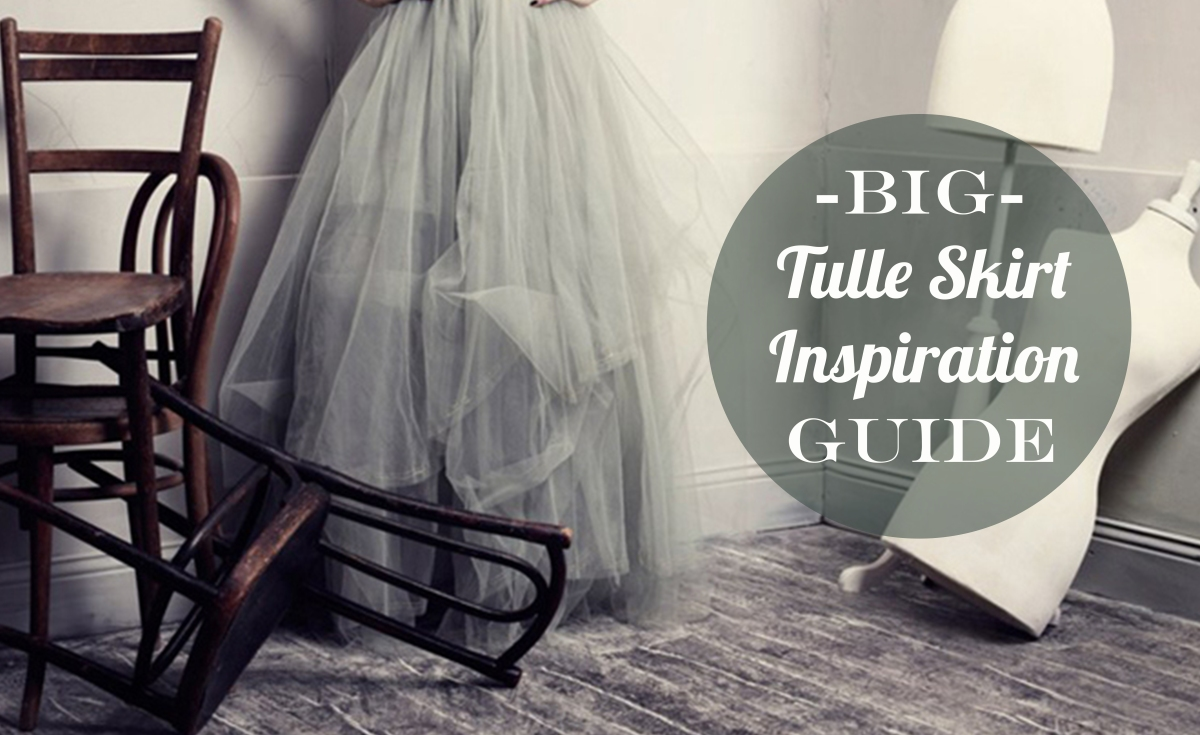 Tulle Skirt Inspiration